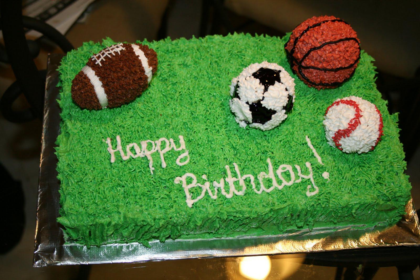Peachy 11 Sports Cakes Football Photo Sports Birthday Cake Sports Funny Birthday Cards Online Bapapcheapnameinfo