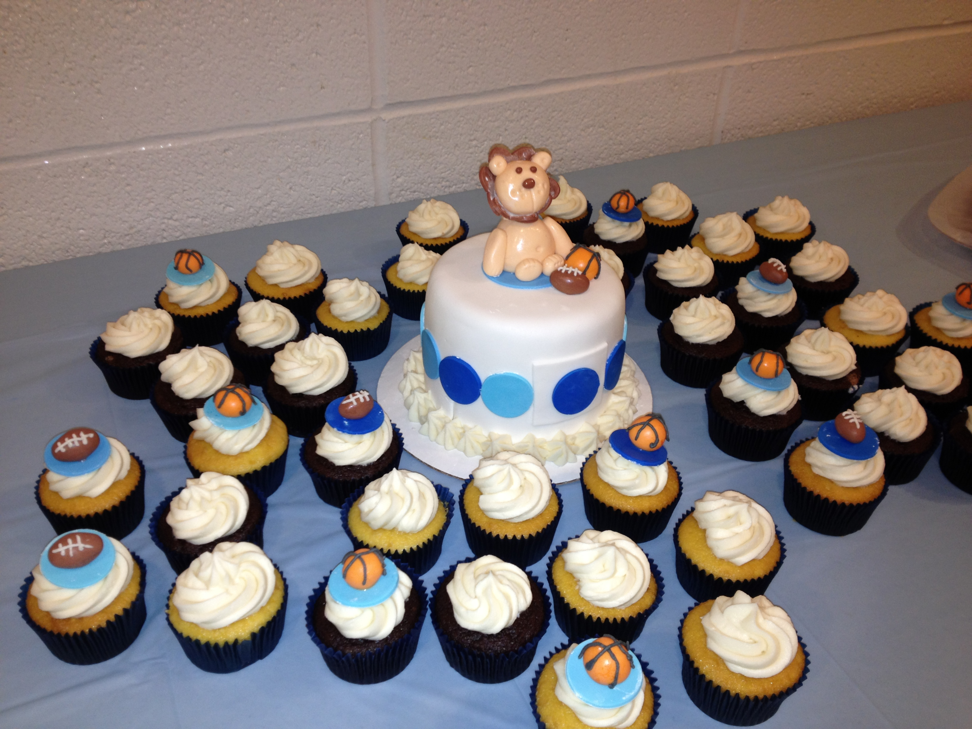 Baby Boy Baby Shower Cupcakes ~ Baby shower cupcake cake ideas boy unique christening cupcakes