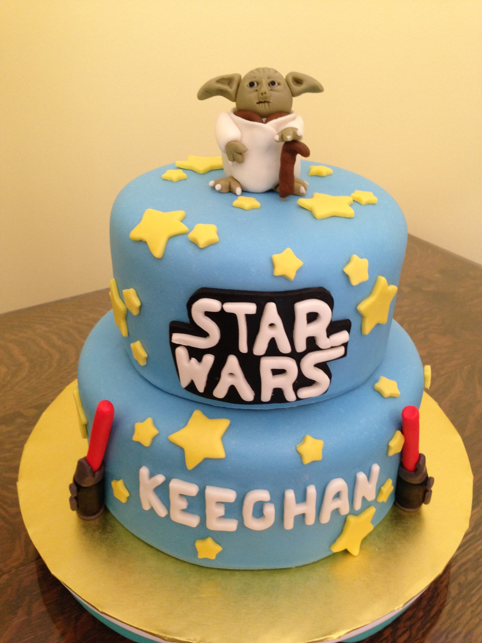 10 Professional Birthday Cakes Star Wars Photo Star Wars Cake