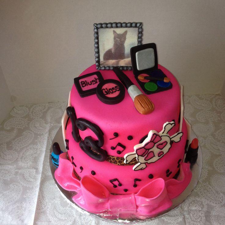 7 Fancy Birthday Cakes For Teen Girls Photo Cool Birthday Cake