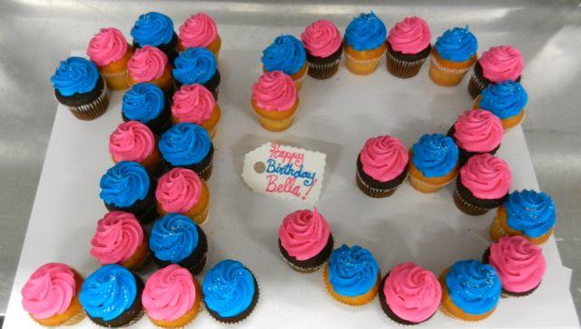 13th Birthday Cupcake Ideas