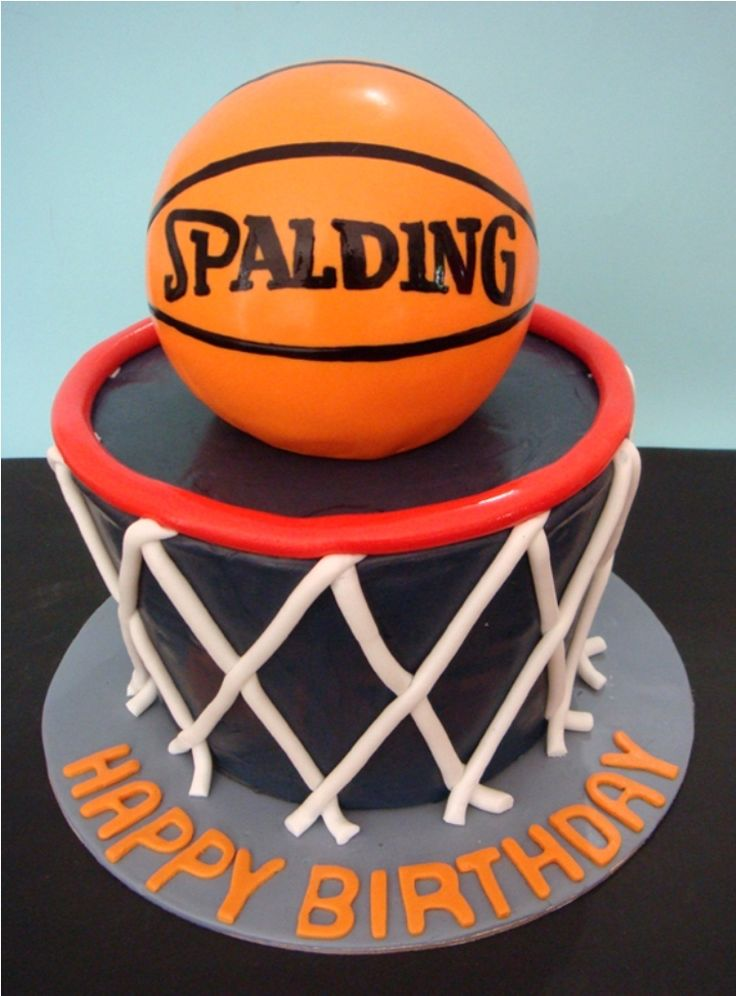 Cool 11 Basketball Birthday Cakes For Boys Photo Basketball Birthday Funny Birthday Cards Online Unhofree Goldxyz