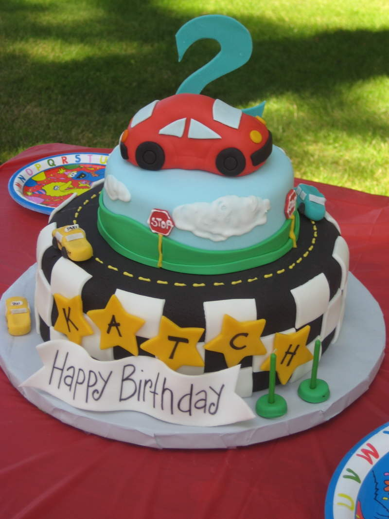 Boys 2nd Birthday Cake Ideas
