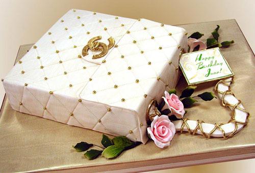 11 Gold Purse Cakes Photo