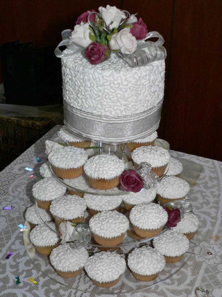 Cupcake Wedding Cakes Albertsons
