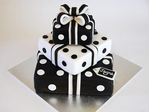 Amazing 5 Black And White Birthday Cakes For Men Photo Elegant Black And Personalised Birthday Cards Akebfashionlily Jamesorg