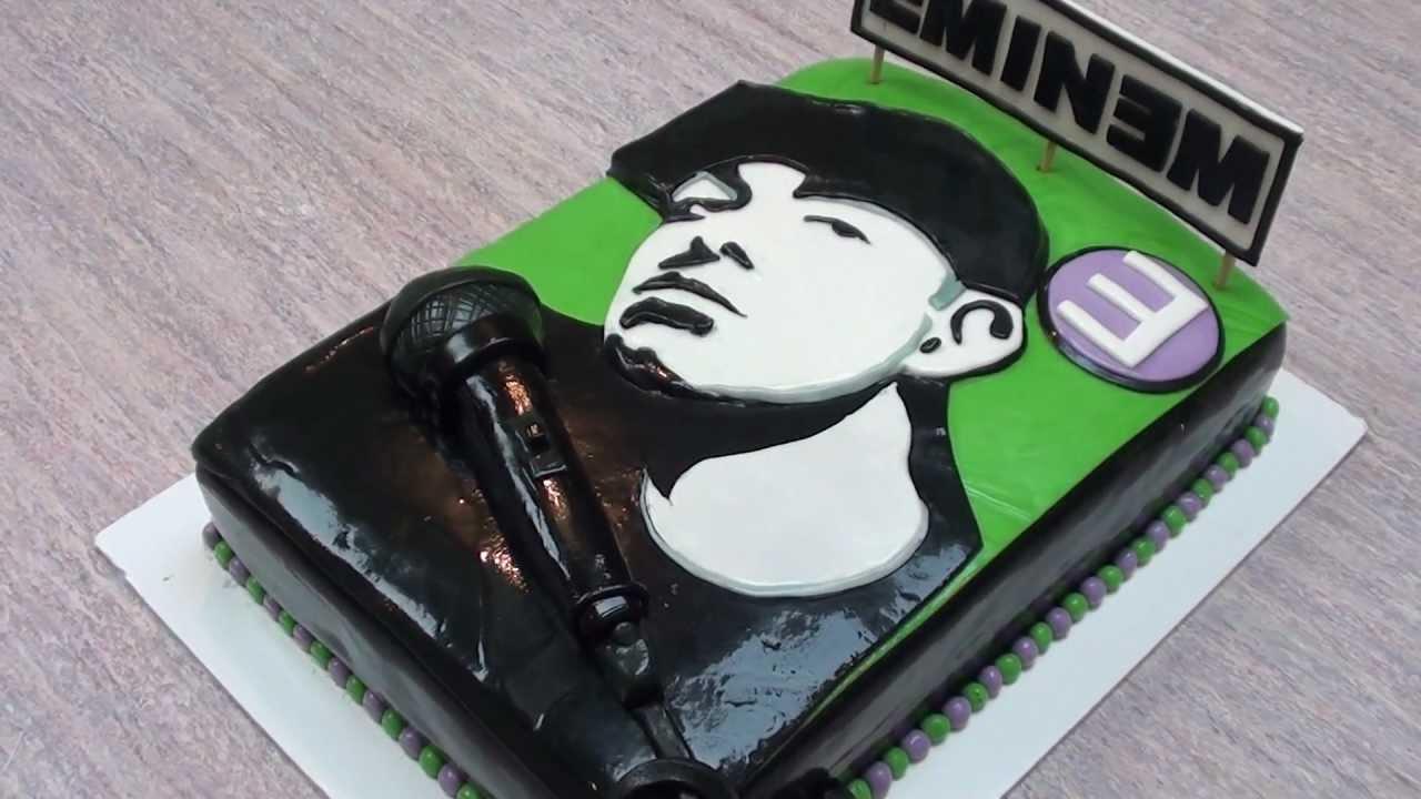 Fabulous 9 Eminem Birthday Cakes Photo Eminem Birthday Cake Eminem Happy Funny Birthday Cards Online Bapapcheapnameinfo