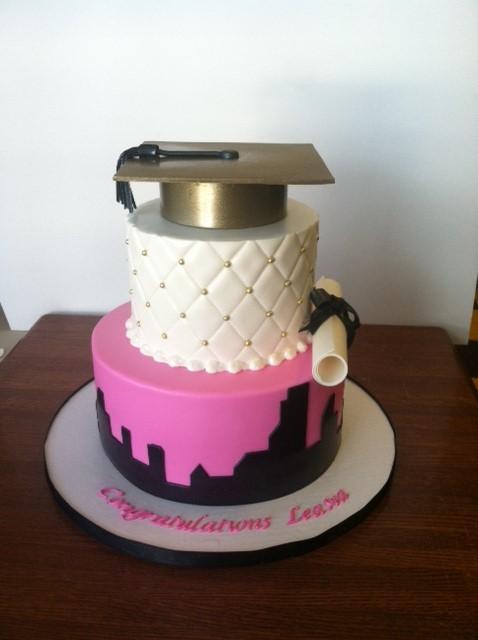 13 Amazing Graduation Cakes For Girls Photo Girly Graduation Cake