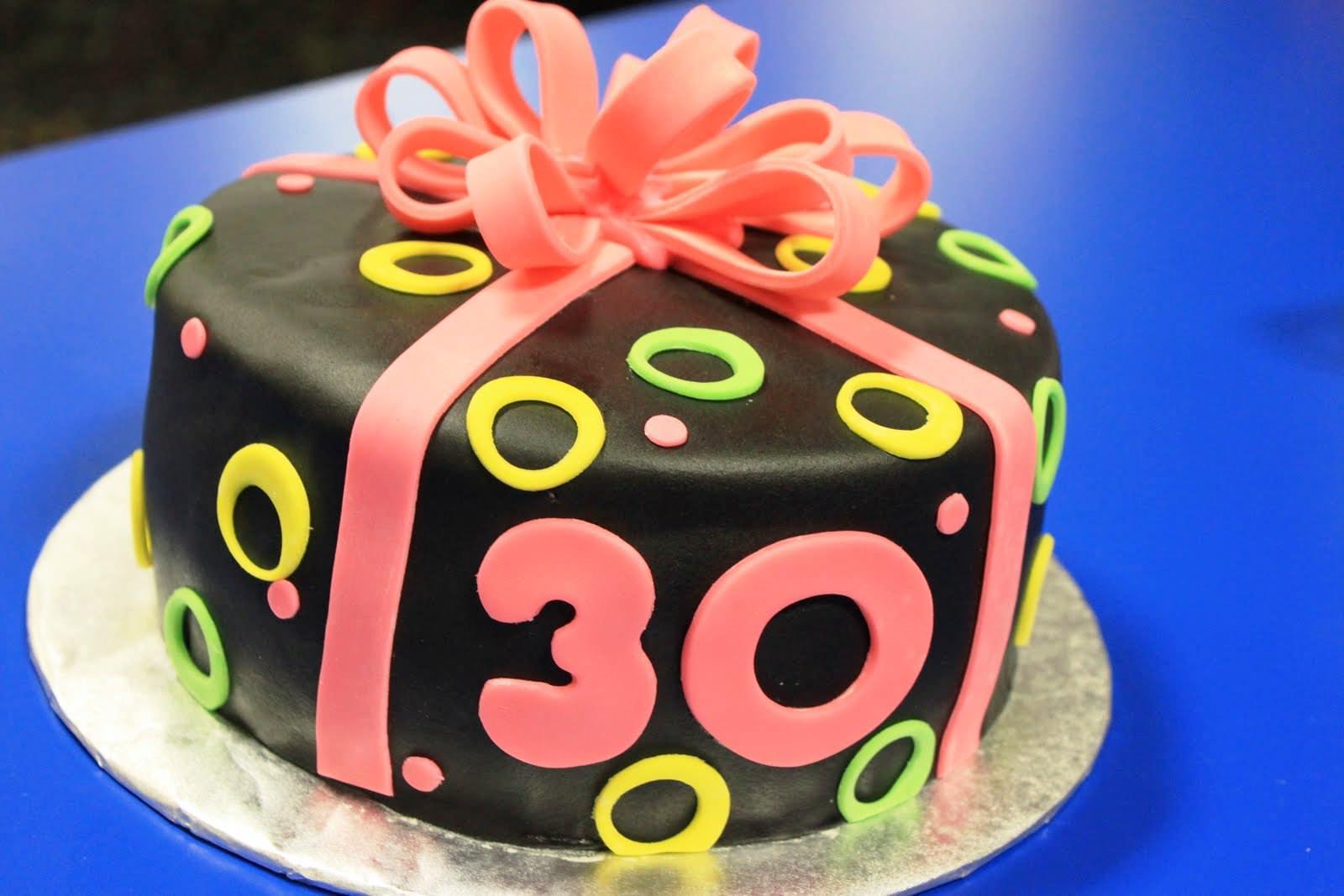 Happy Birthday Cakes 30 Years