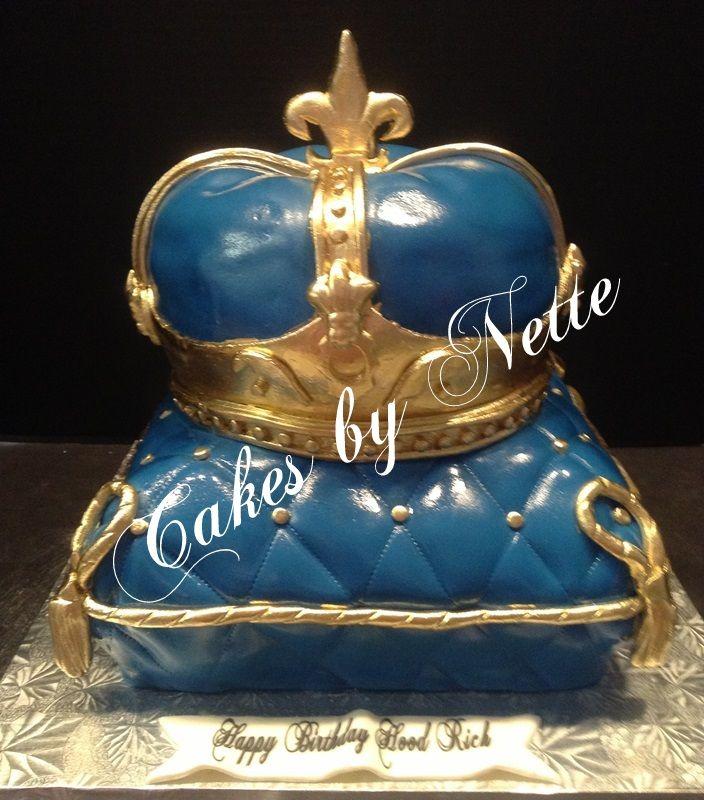 10 Royal Birthday Cakes For Men Photo King Crown Birthday Cake