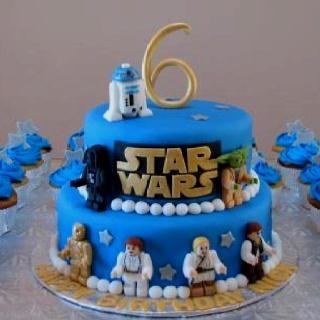 Astonishing 13 Star Wars Lego Birthday Cupcakes Photo Lego Star Wars Funny Birthday Cards Online Overcheapnameinfo