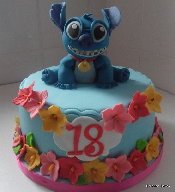 10 Lilo And Stitch Themed Cakes Photo Lilo And Stitch Cake Ideas