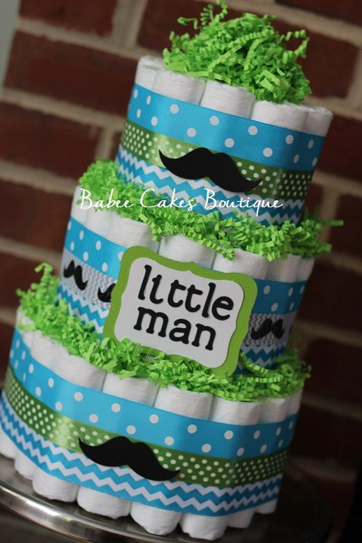 11 Lime Green Boy Baby Shower Cakes Photo Blue And Green Baby