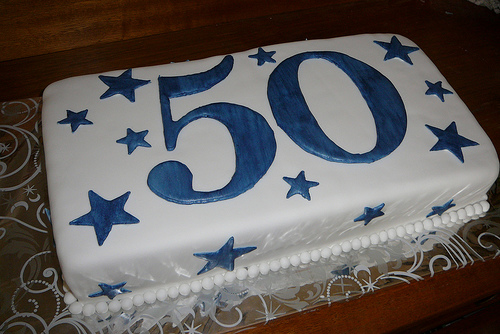 9 Simple Birthday Cakes For Men 50 Years Photo Hy 50th