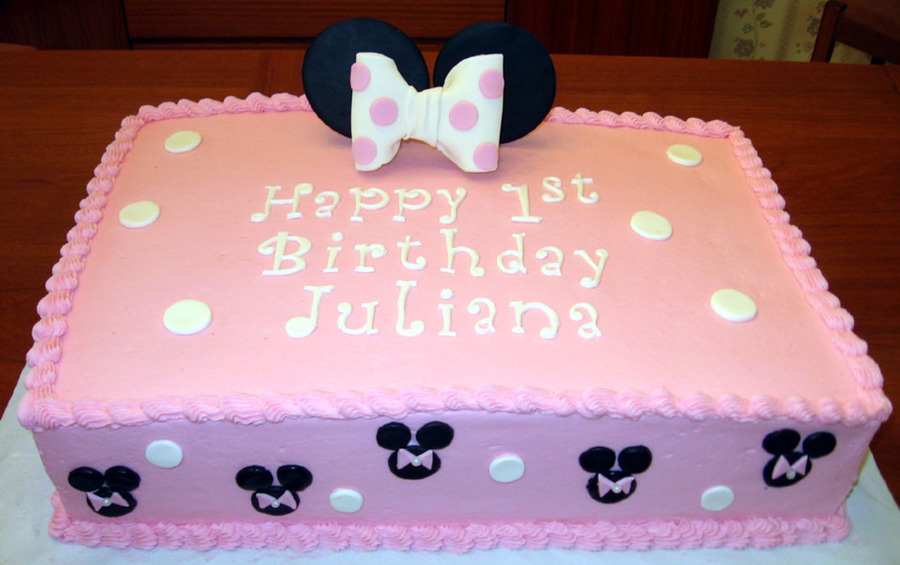 Miraculous 10 Minnie Mouse Sheet Cakes With Chocolate Inside Photo Minnie Funny Birthday Cards Online Amentibdeldamsfinfo