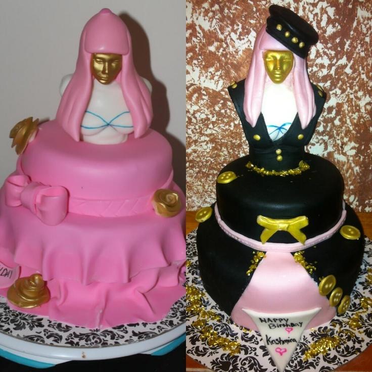 9 Nicki Minaj Cupcakes Photo Nicki Minaj Cake Nicki Minaj
