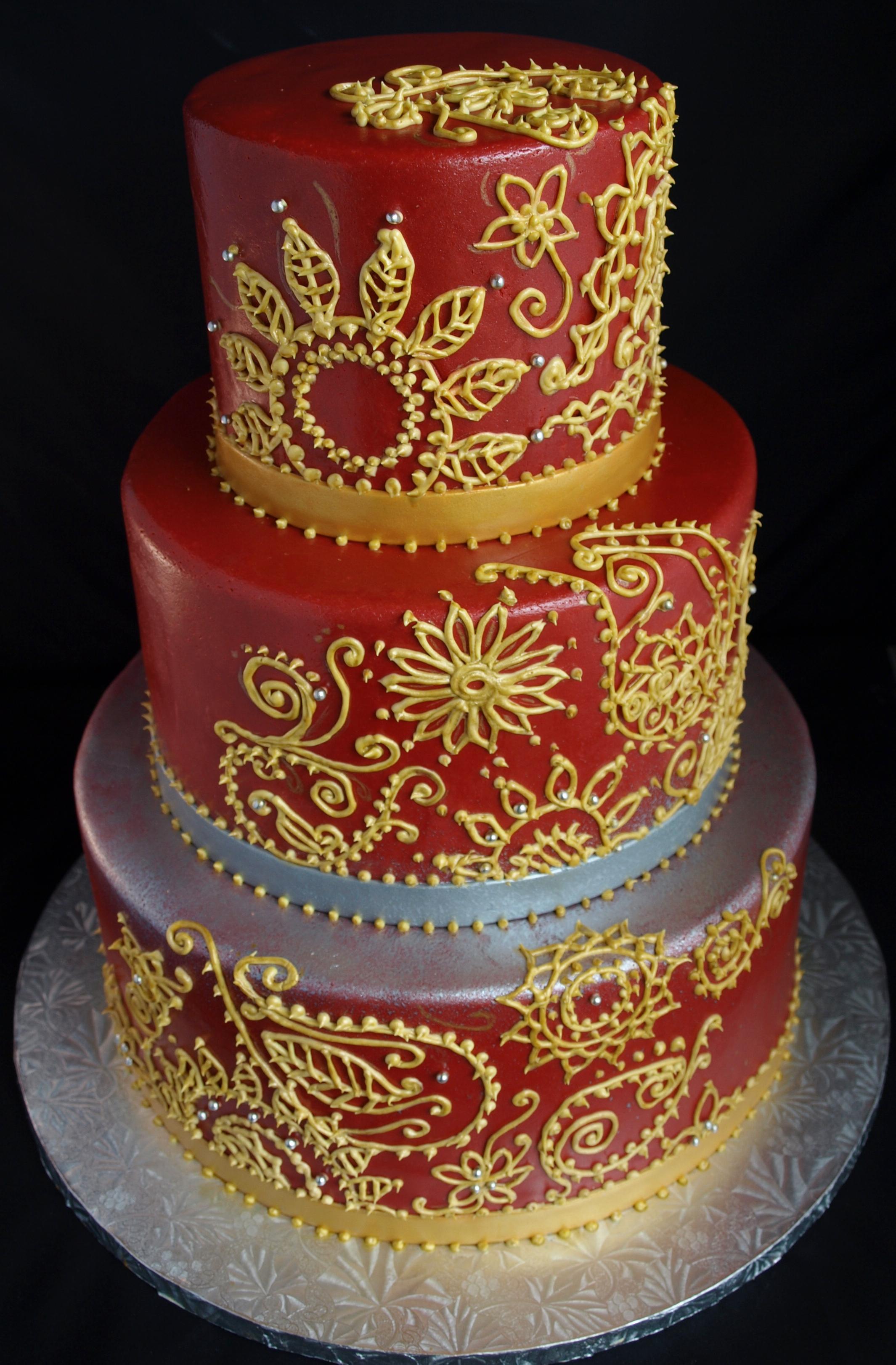 12 Indian Wedding Cakes Designs Photo Indian Sari Wedding Cake