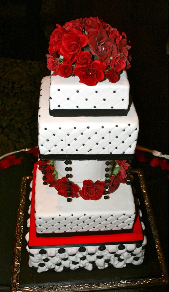 wedding cake black and red 7 engagement cakes black and white photo white 22013