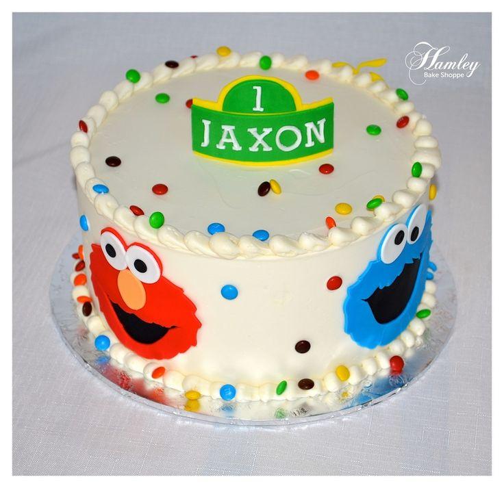 Sensational 11 Sesame Street 1St Birthday Cupcakes Photo Sesame Street 1St Personalised Birthday Cards Sponlily Jamesorg