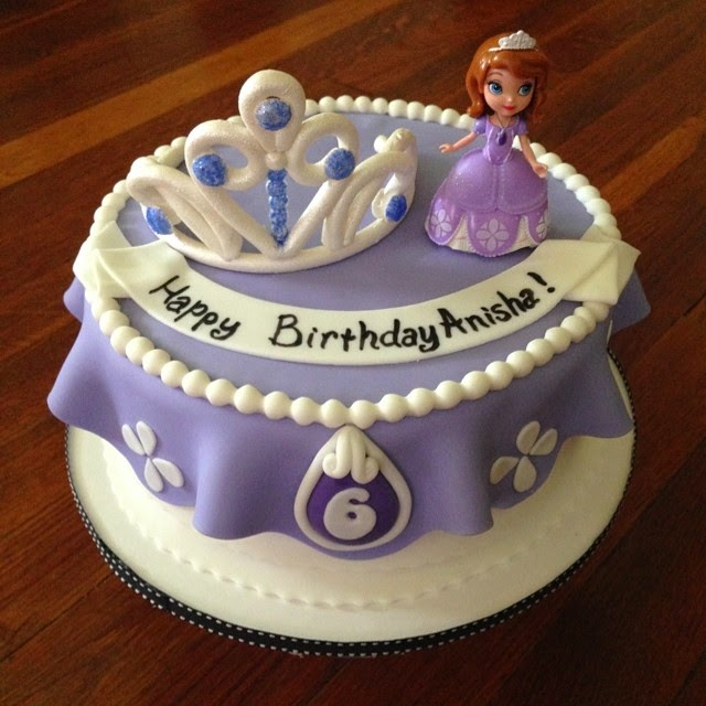 Astonishing 8 Sofia The First Birthday Cake And Cupcakes Photo Sofia The Personalised Birthday Cards Arneslily Jamesorg