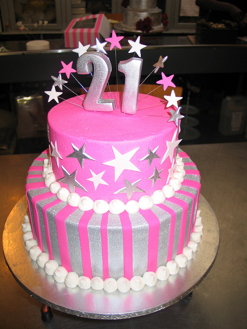 9 Two Tier Birthday Cakes For Girls Photo 2 Tier Girls Princess