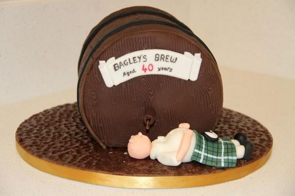 40th Birthday Cake Ideas For A Man