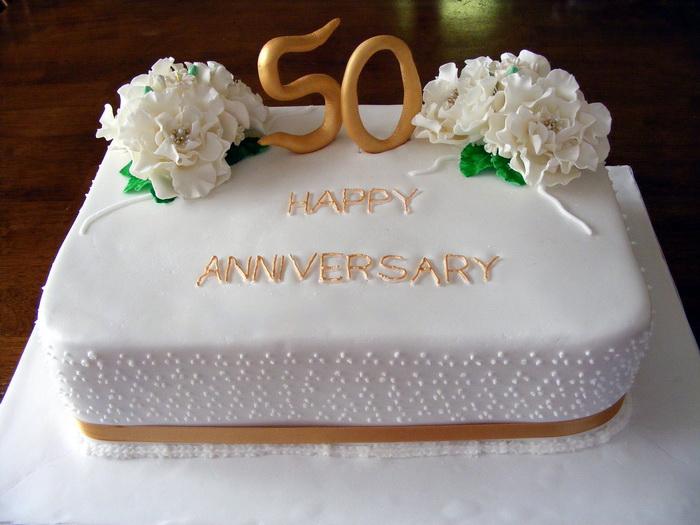 5 50th Anniversary Sheet Cakes Decorated Photo - Anniversary Sheet ...