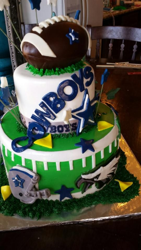 Awesome Dallas Cowboys Birthday Cake