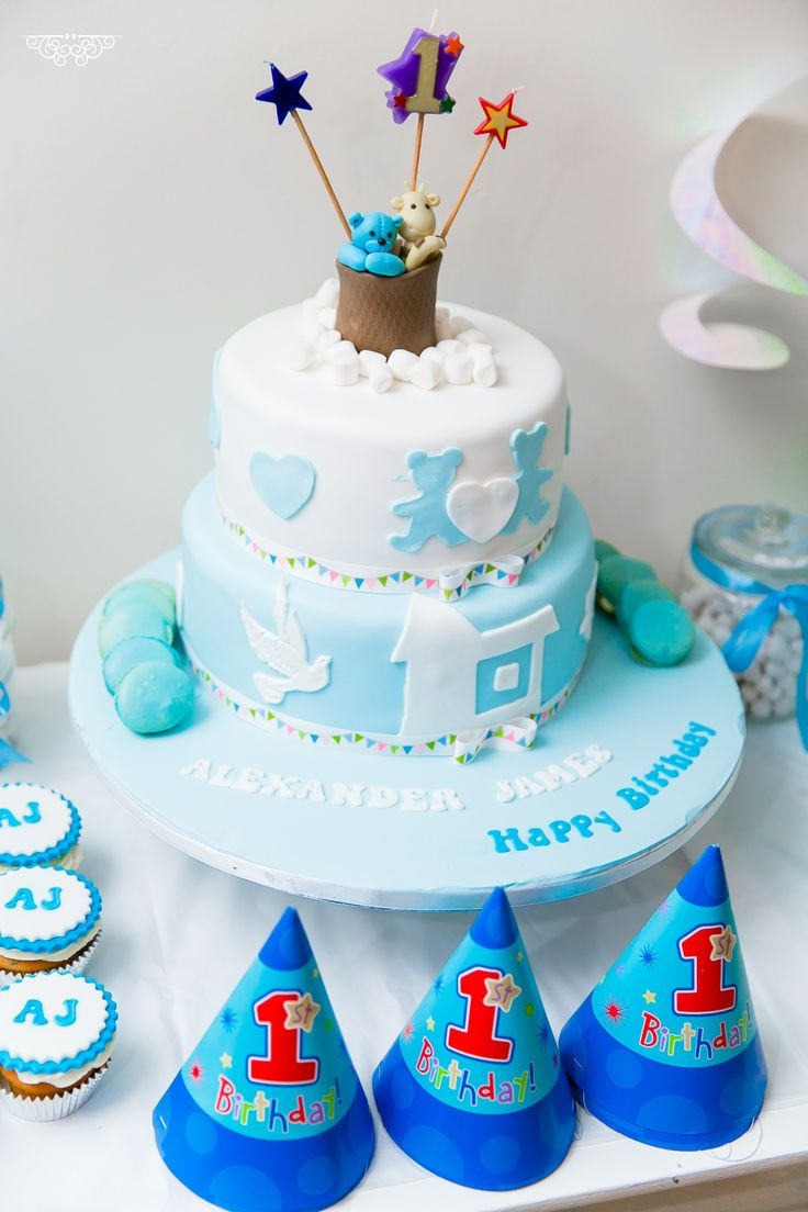 9 Cakes For Baby Boys First Bday Photo Baby Boy 1st Birthday Cake