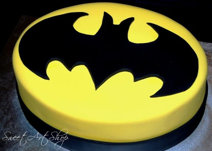 10 Batman Cakes Easy To Make Photo Birthday Cake Ideas