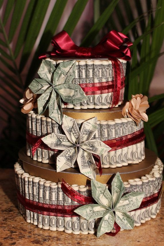 12 Cakes Made Out Of Money Bills 100 Photo Birthday Cake Made With