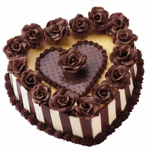 11 Beautiful Birthday Cakes Chocolate Heart Photo Chocolate