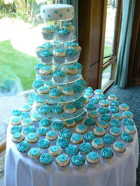 12 Cupcake Wedding Cakes Summer Photo Summer Cupcake Cake Cupcake