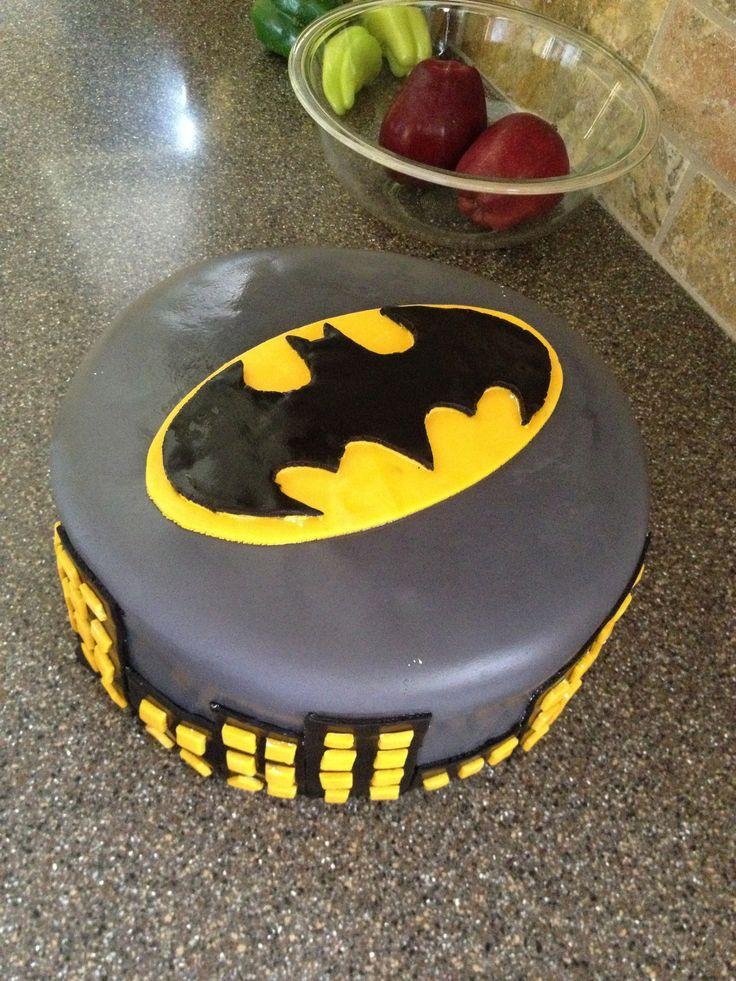 10 Batman Cakes Easy To Make Photo Easy Batman Birthday Cake Ideas