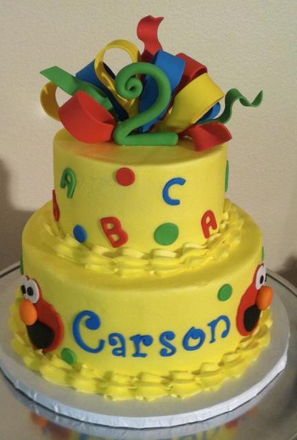 Elmo Birthday Cakes For Girls