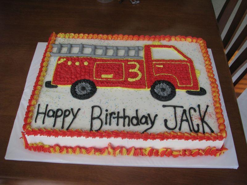 12 Fire Truck Sheet Cakes Photo Fire Truck Sheet Cake Fire Truck