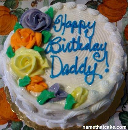 Cool 9 Birthday Cakes That Say Happy Birthday Dad Photo Happy Personalised Birthday Cards Veneteletsinfo