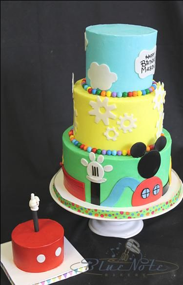 Mickey Mouse Clubhouse Birthday Smash Cake