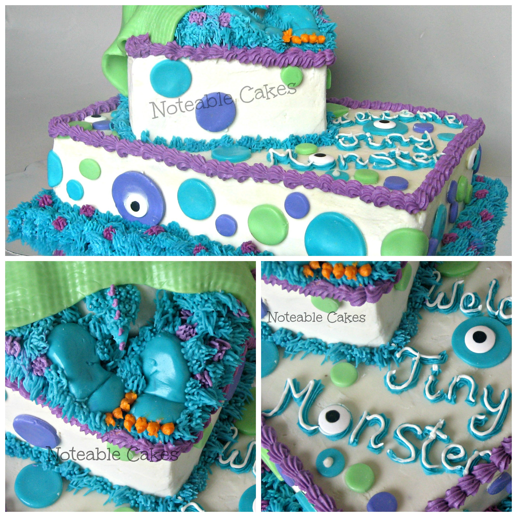 11 Baby Boy Baby Shower Monster Ink Cakes Photo Monsters Inc Baby