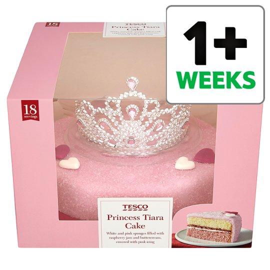 Tesco Birthday Cakes Via Princess Cake With Tiara
