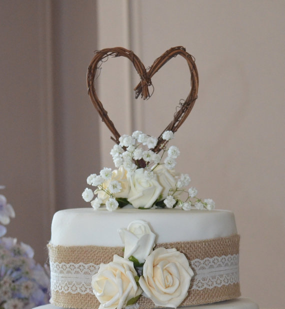 6 Photos of Rustic Engagement Party Cakes