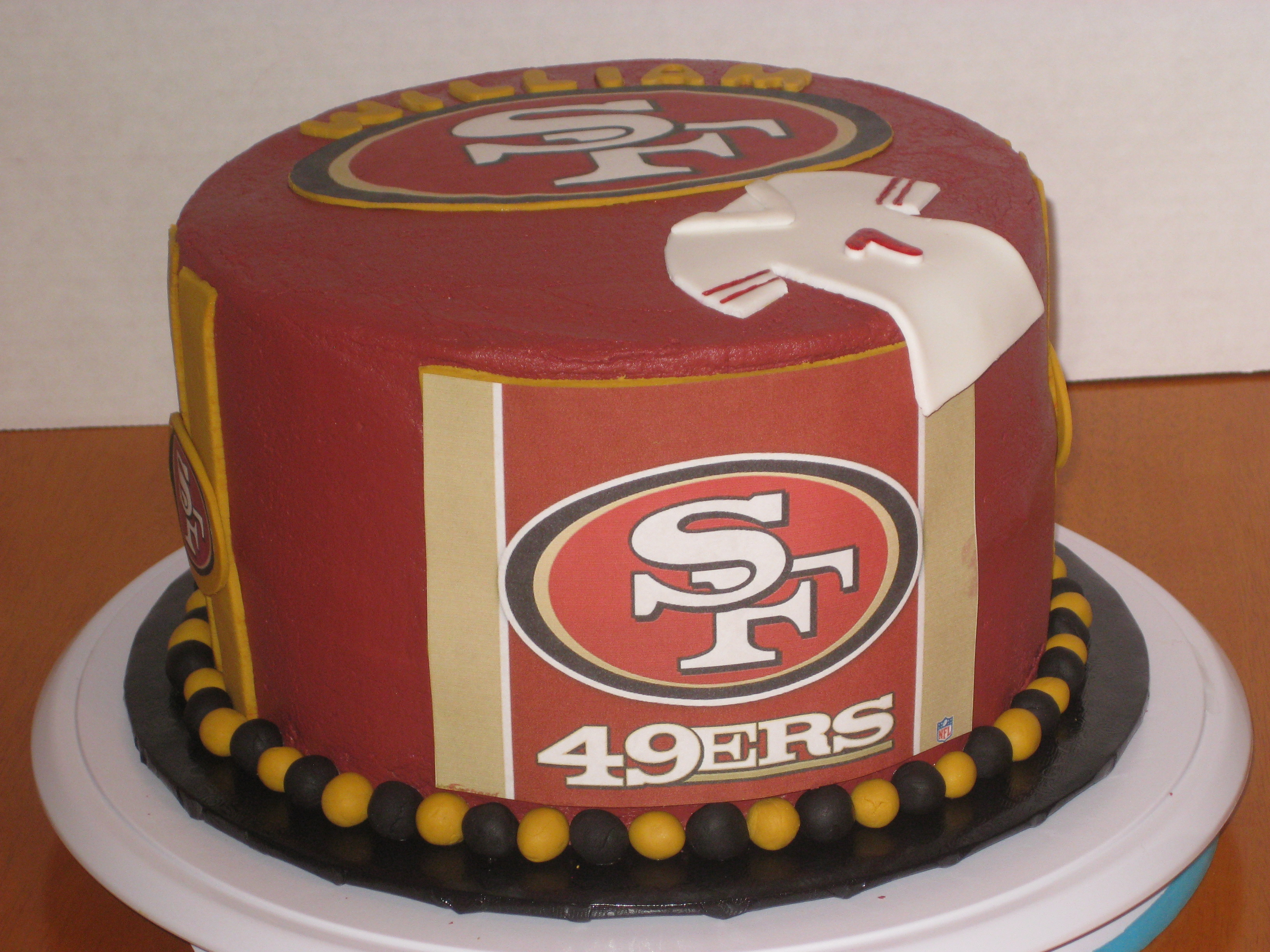 8 49er Birthday Cakes With Design Photo San Francisco 49ers