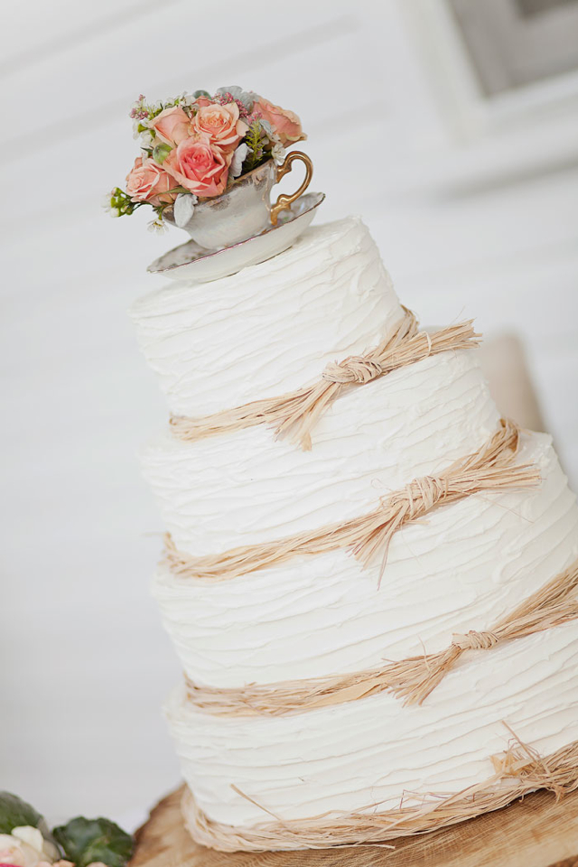 12 Shabby Chic Rustic Wedding Cakes Photo - Shabby Chic Wedding Cake ...