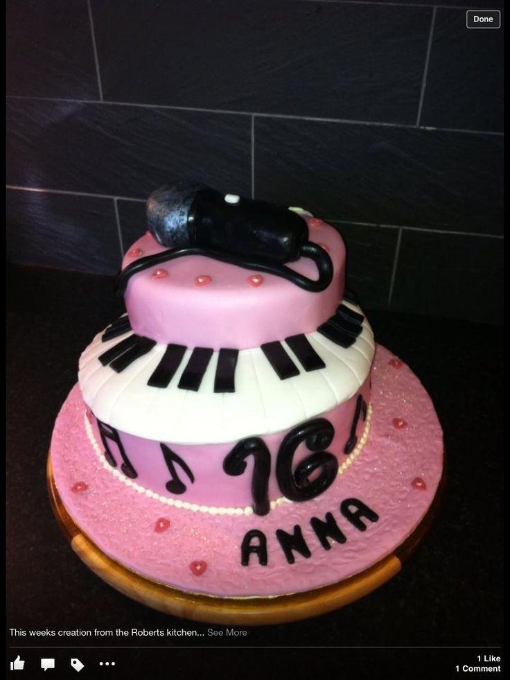 Enjoyable 12 Birthday Cakes Singing Mic Photo Microphone Birthday Cake Personalised Birthday Cards Paralily Jamesorg