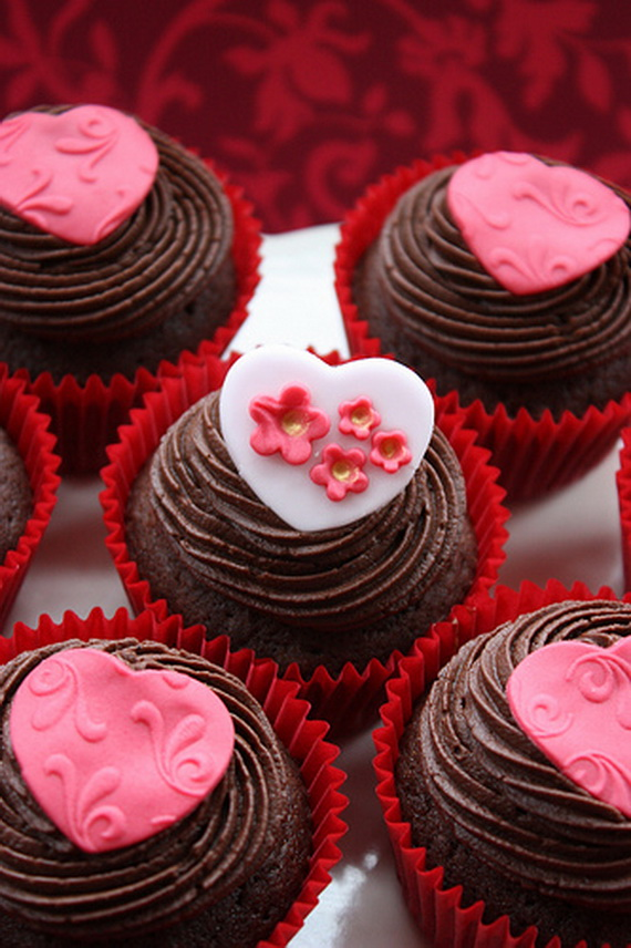 Valentineu0027s Cupcake Decorating Ideas