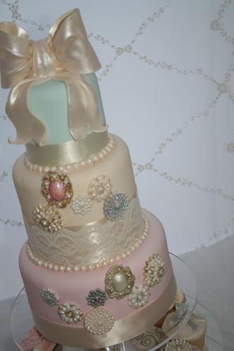 7 Jewel Bakery Wedding Cakes Photo Jewel Tone Wedding Cake