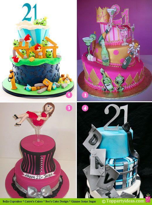 Peachy 11 21St Birthday Cakes Party Photo Happy 21St Birthday Cake Funny Birthday Cards Online Chimdamsfinfo