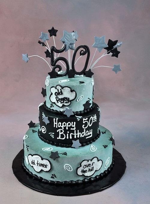 50th Birthday Cake Ideas For A Man