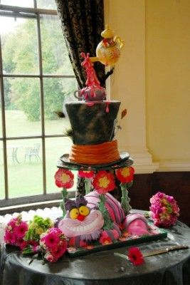 10 Mad Hatter Themed Cakes Photo - Alice in Wonderland Mad Hatter ...