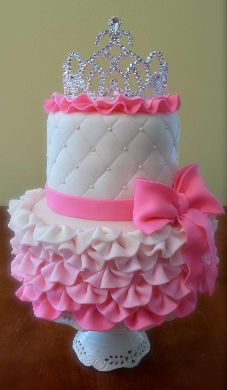 Surprising 10 Toddler Girls Princess Birthday Cakes Photo Baby Girl Funny Birthday Cards Online Necthendildamsfinfo